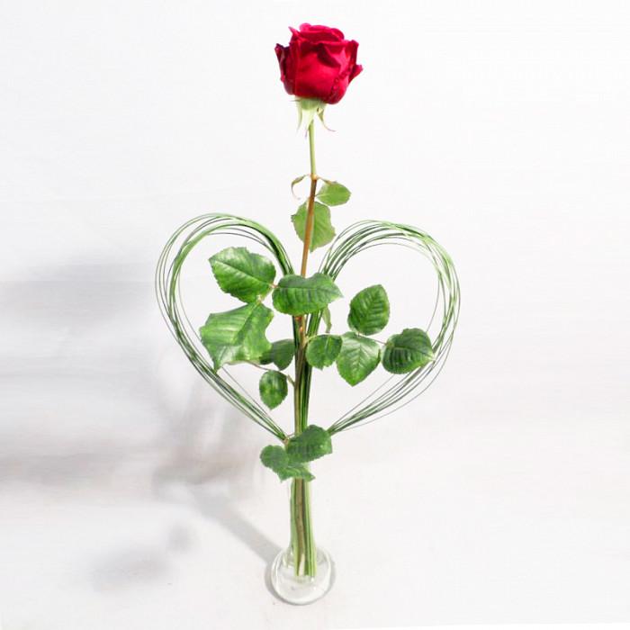 Vase Mit Blumen mit grasherz und vase blumen maarsen